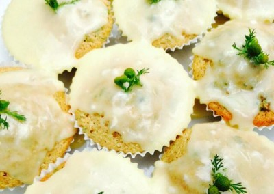 Pineapple Weed Cupcakes